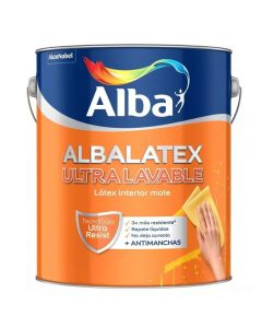 Albalatex Ultra Lavable (Blanco)    4 L